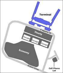 tulsa airport map airport parking map tulsa airport parking map jpg