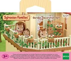 Sylvanian Families Garden - sylvanian families garden decoration set toyworld