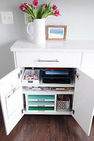 Diy Charging Stations Iheart Organizing Family Charging Station Cabinet