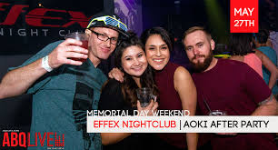 effex nightclub aoki after party