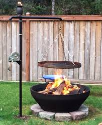 Bbq Side Table Plans Fire Pit Design Ideas - 27 surprisingly easy diy bbq fire pits anyone can make