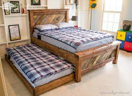 Pallet Bedroom Furniture 15 Wonderful Diy Projects To Re Purpose Pallets Into Bedroom
