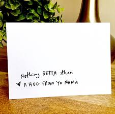 funny mother u0027s day card gift for mom yo mama mothers day card