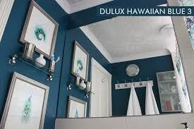 dulux bathroom ideas dulux hawaiian blue interiors by color 2 interior decorating ideas