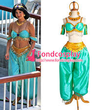 jasmine princess dress movie cosplay costume custom g1022