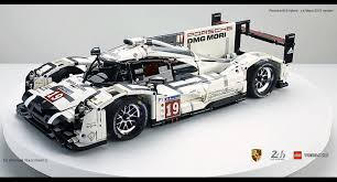 porsche 919 amazing fan built lego technic porsche 919 the 2015 le mans
