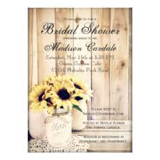 Rustic Invitations Custom U0027rustic Country Sunflower U0027 Wedding Theme Invitation Cards