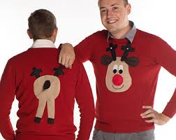 rudolph sweater rudolph reindeer brown sweater with squeaker