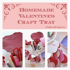 kitchen floor crafts homemade valentine u0027s craft tray