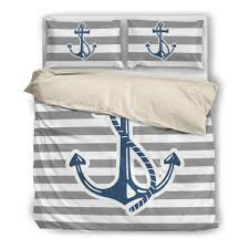 bedding set vintage stripe anchor ccnc006 bt0168 u2013 ccgoodshop