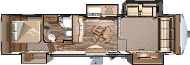 Montana 5th Wheel Floor Plans Fifth Wheel Front Living Room Floor Plans Redwood 38fl Front