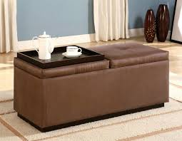 Square Leather Ottoman With Storage Attractive Large Square Storage Ottoman Ottomans Contemporary