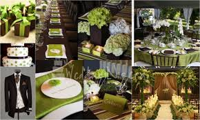 wedding color palette lime green and chocolate u2013 my wedding nigeria