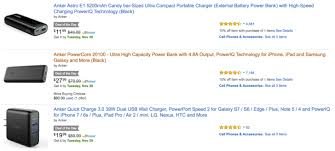 black friday deal on amazon ipad deal alert save 12 on an anker 20 100mah battery and more as