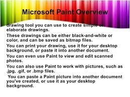 microsoft paint create pictures