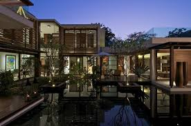 homes with interior courtyards courtyard house by hiren patel architects