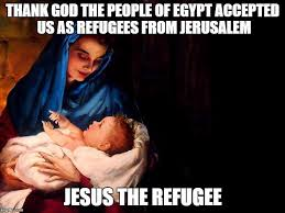 Thank Jesus Meme - mary and baby jesus memes imgflip