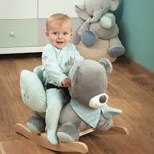 Infant Toddler Rocking Chair Nattou Baby Toddler Infant Rocking Horse Play Rocker 10