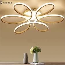 lustres pour chambre ac110 220 v moderne led lustre pour salon chambre cuisine lustres