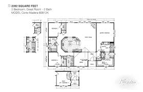 avalon series floorplans triple wide homes karsten el dorado