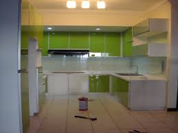 modern kitchen colour schemes kitchen fresh green kitchen cabinet in modern kitchen with white