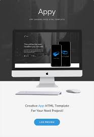 appy app landing page html template by zytheme themeforest