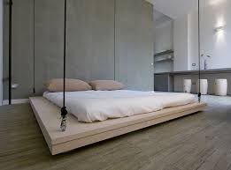 bedroom impressive space room for ceiling mounted bed with grey