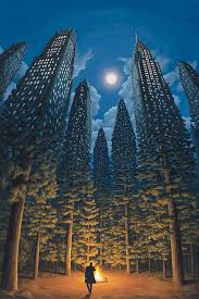 mind ing optical illusion painting by robert gonsalves