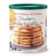 blueberry pancake u0026 waffle mix pancakes u0026 syrups stonewall kitchen