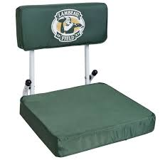 Cushioned Bleacher Seats With Backs Lambeau Field Stadium Seat At The Packers Pro Shop