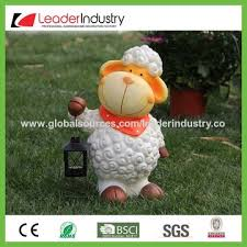 china pretty sheep garden ornament for home and outdoor