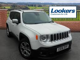 jeep renegade interior 2016 used 2016 jeep renegade 1 6 multijet limited 5dr for sale in