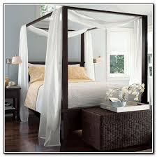 4 Poster Bed With Curtains Collection In Poster Bed Curtains Ideas With 4 Poster Bed With