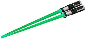 lightsaber toy light up amazon com kotobukiya yoda light up version lightsaber chopsticks