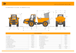 articulated dump track 714 jcb pdf catalogue technical