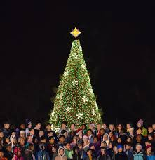 Twinkling Christmas Tree Lights Canada by National Christmas Tree United States Wikipedia