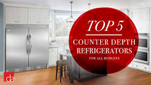 kitchen cabinet countertop depth best counter depth refrigerator of 2021 reviews ratings