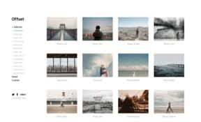 Photography Portfolio Photographers Build Your Portfolio Website With Templates Themes