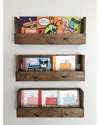 spectacular deal on set of 3 rustic wood shelves baby room
