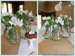 jar centerpieces for baby shower fresh free simple flower arrangements for baby showe 22039 awesome