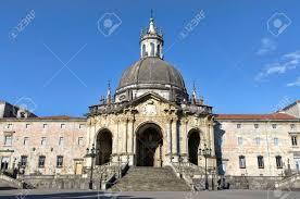 basilica of loiola in azpeitia spain baroque architecture stock