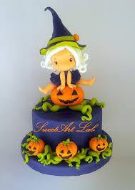 Halloween Birthday Cakes For Girls Sweetart Lab Torta Di Zucchero Fondant Figurine Love