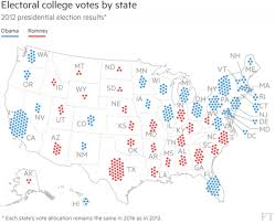 2012 Presidential Election Map by Election Maps Representing Area And Population U2013 David Gotz