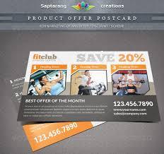 26 postcard flyer templates free psd atn format download