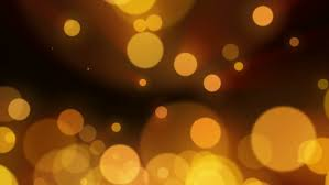 abstract blurred christmas lights bokeh background blinking