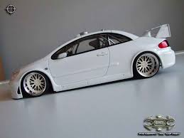 white peugeot for sale peugeot 307 wrc plain body white wheels bbs tuning autoart