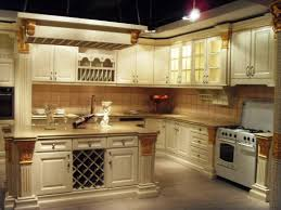 Old Kitchen Cabinet Ideas Elegant Vintage White Kitchen Cabinets Ideas With Bright Lighting