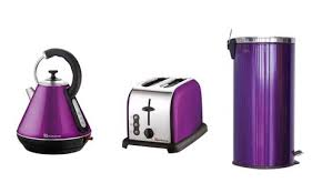 Purple Kettle And Toaster Matching Kitchen Sets U2013 Down To Science