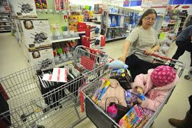 thanksgiving day sale kmart in waterville area christmas shopping season off to a busy start