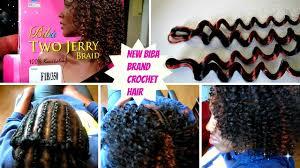 crochet hair brands new biba hair brand two jerry curl pattern crochet install
